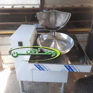 دستگاه سبزی خردکن صنعتی دهنه ۹۰سانتیمتر استیل