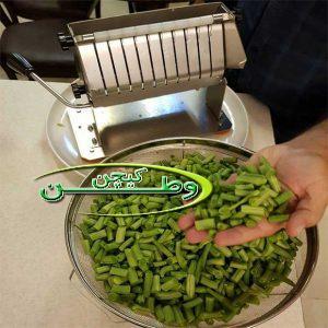 دستگاه لوبیا سبز خرد کن دستی