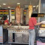 دستگاه مغازه کباب پز ترکی 2 سیخ ایستاده