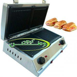 ساندویچ ساز استیل دو صفحه مدل آرتا