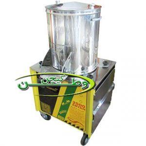 سبزی خردکن سطلی صنعتی هفت کیلوگرم