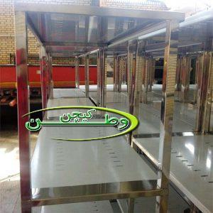 طبقه بندی فروشگاهی قفسه بندی استیل سردخانه