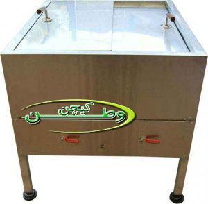 دستگاه دیزی پز ۶۴ تایی دو سنگ