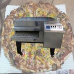 فر ریلی پیتزافروشی پخت ساعتی صدوسی پيتزا
