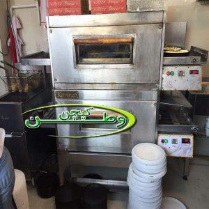 فر پیتزا ریلی صدتایی فست فود