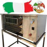 فر پیتزا صندوقی طرح ایتالیایی با درجه آنالوگ دوازده بشقاب