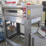 فر پیتزا صندوقی یک طبقه بدون پایه مدل Zanolli CITIZEN 6 MC