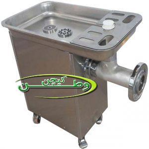 چرخ گوشت دهنه ۳۲ گیربکسی آلفا استیل
