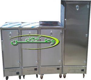 گرمخانه های غذا صنعتی خشک گازی استیل
