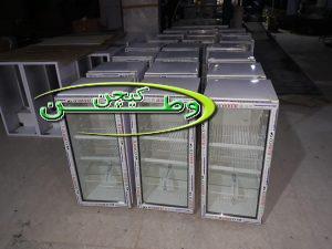 خط تولید یخچال نوشیدنی ۷ فوت در کارخانه