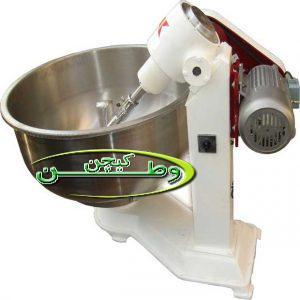 دستگاه خمیرگیر ظرفیت هشت کیلوگرمی کوچک
