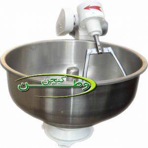 دستگاه خمیر ساز شصت کیلویی استیل