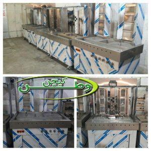 خط تولید دستگاه کباب ترکی در کارخانه