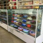 یخچال ویترینی کیک فروشی