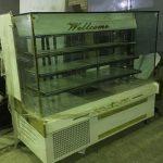 یخچال ویترینی شیشه مکعبی مخصوص قنادی